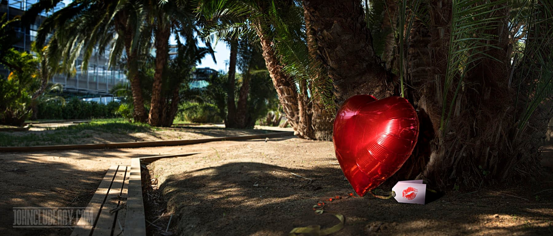 Heart Balloon Series at JohnCluderay.com